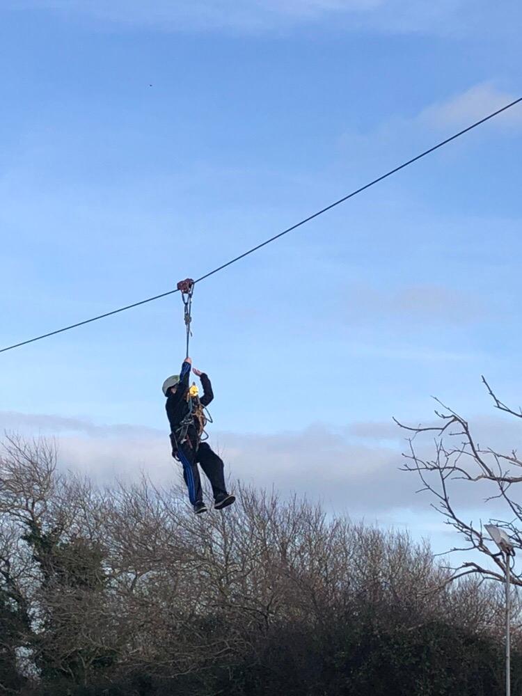Zip-Wire-Child