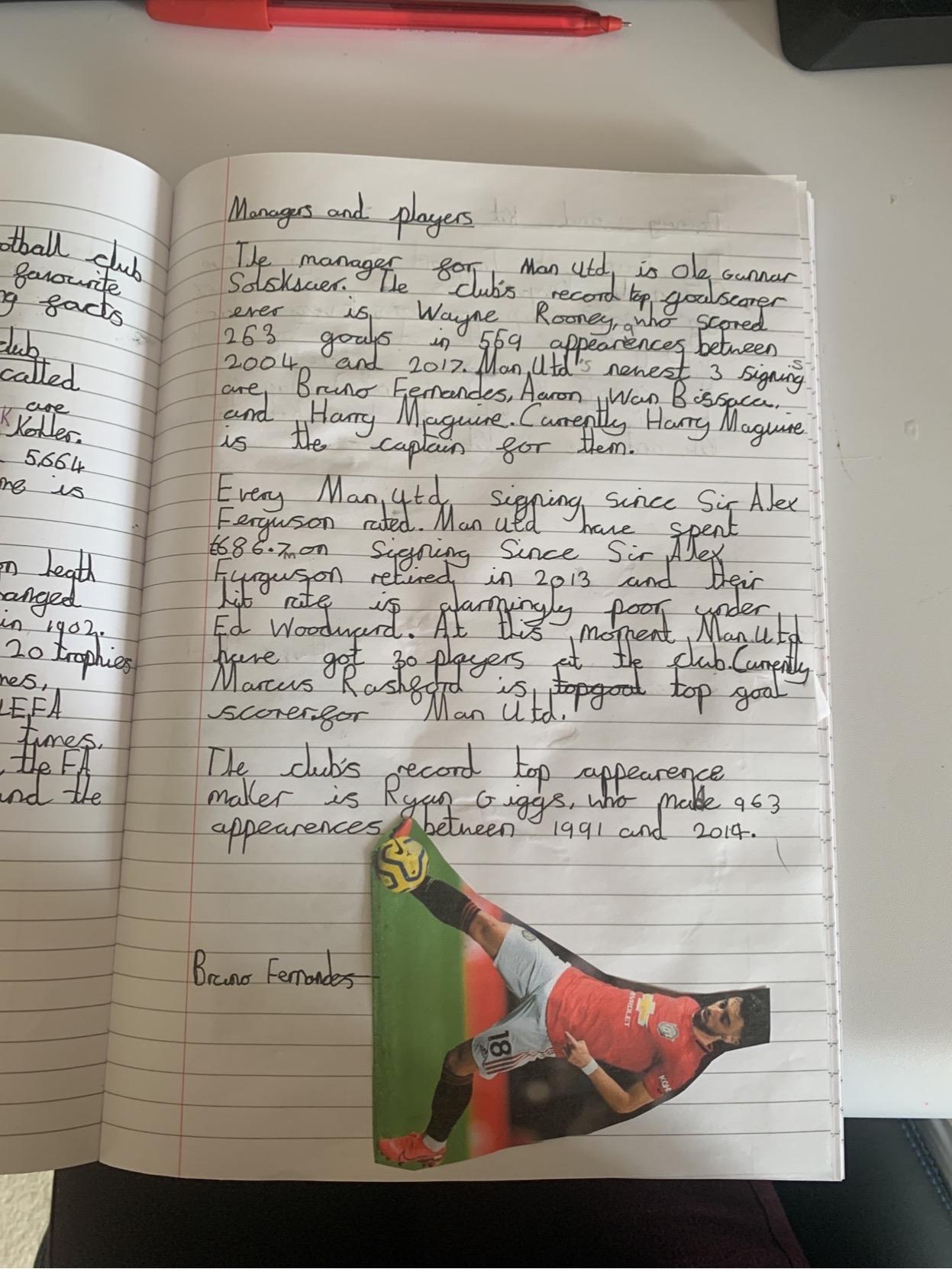 Super writing